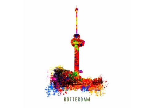 Ben Kleyn Euromast – Pop Art