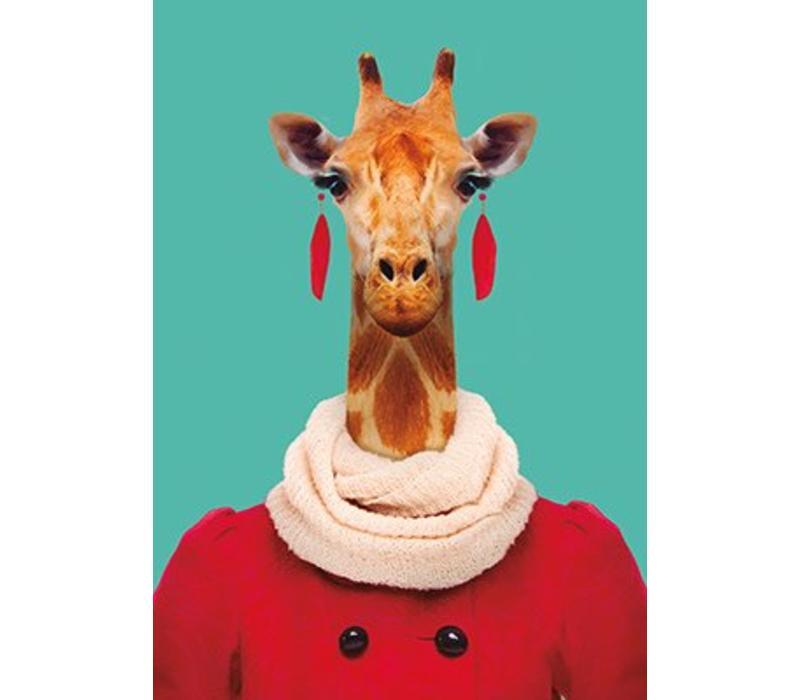 Ansichtkaart Giraf