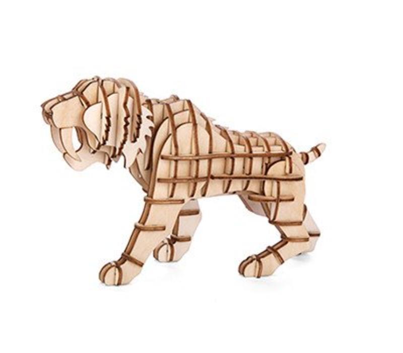 3D puzzel tijger