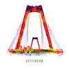 Ben Kleyn Willemsbrug silhouette – Pop Art