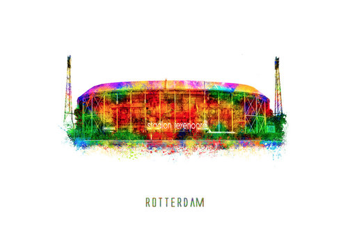 Ben Kleyn Stadion – Pop Art