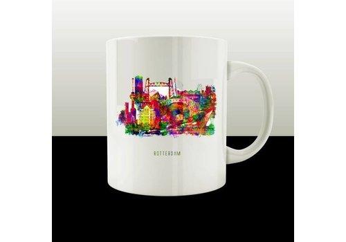 Rotterdam collage mok