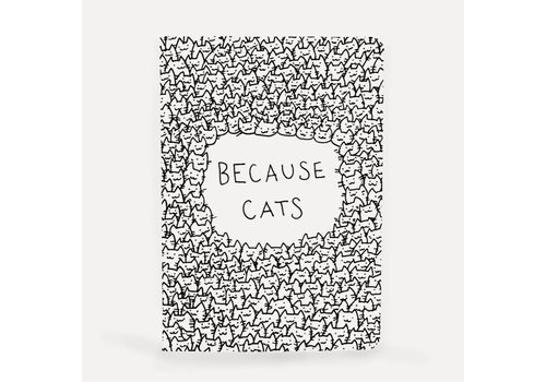 Notebook A5 Because cats