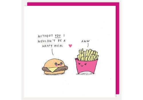 Wenskaart - Happy Meal