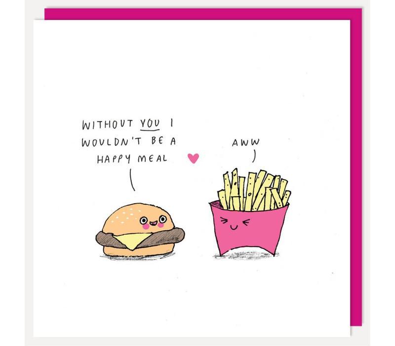 Wenskaart- Happy Meal