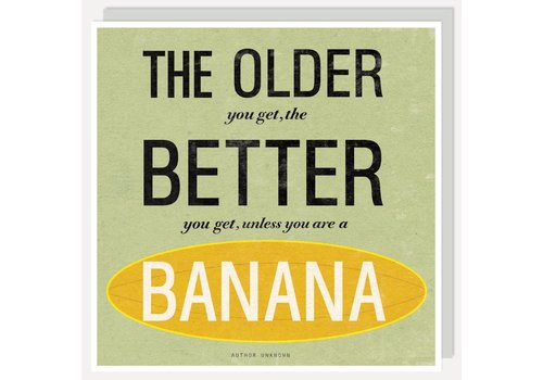 CR380 Lettered - Older, Banana