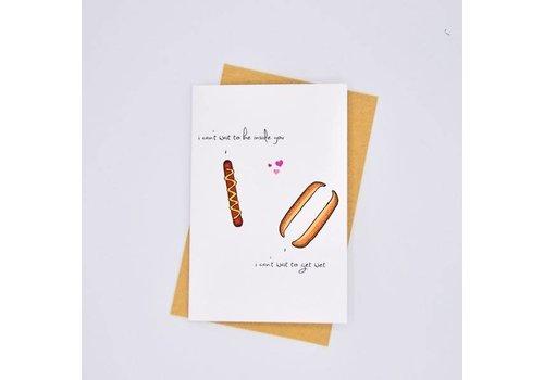 Nocturnal Paper Be inside you Hotdog