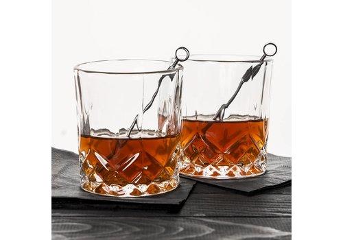Kikkerland Whiskey glazen