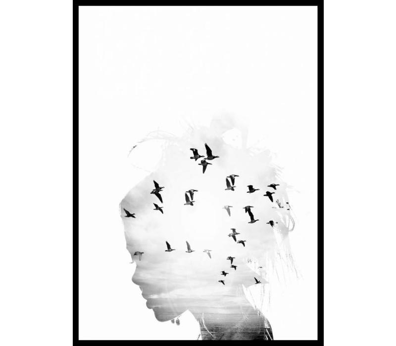 Birds dream 30x40
