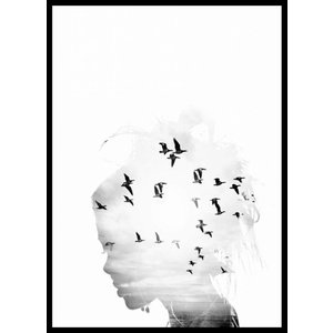 cre8design Birds dream A4