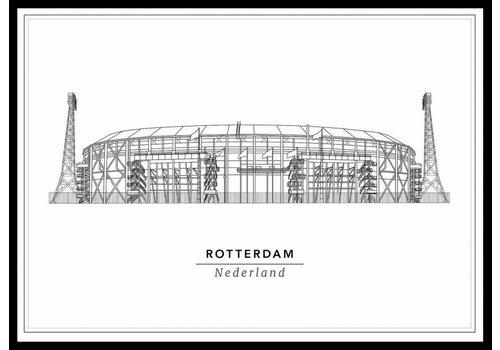 Cityprints Stadion 50x70cm