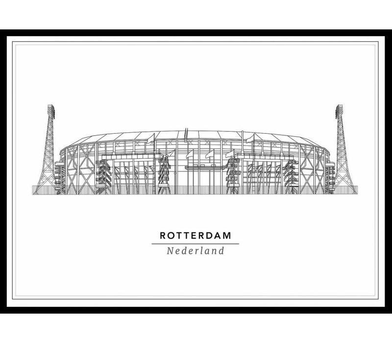 Stadion 30x40cm