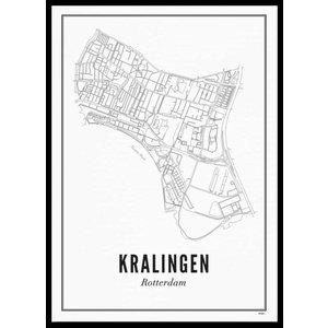 Wijck Poster A4 - Kralingen