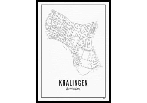Wijck A4 Poster Kralingen