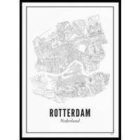Ansichtkaart Rotterdam stad