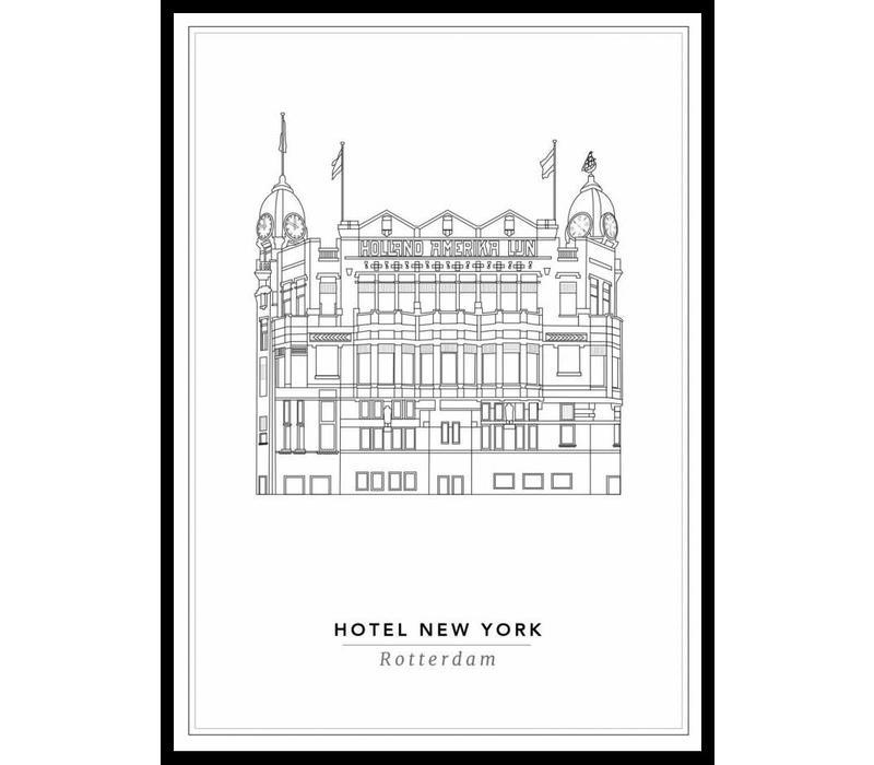 Hotel New York 30x40cm