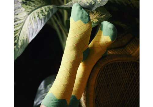 IJsjes sokken Ananas