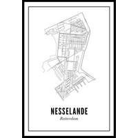 Poster 50x70 - Nesselande