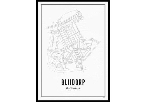 Wijck Poster 50x70  - Blijdorp
