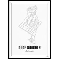 Ansichtkaart - Oude Noorden