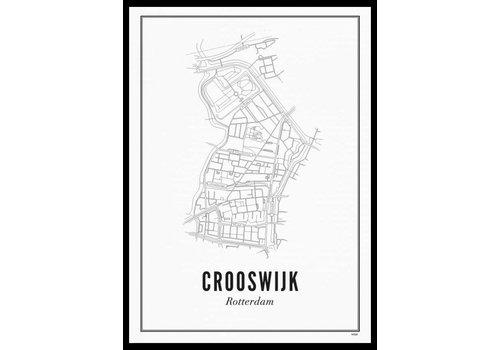 Wijck Poster 50x70 - Crooswijk