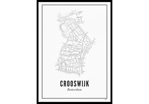 Wijck Poster Crooswijk 50x70