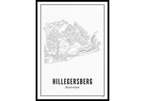 Wijck Poster Hillegersberg 50x70