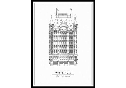Cityprints Het Witte huis 10x15cm