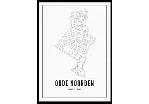 Wijck Poster 50x70 - Oude Noorden