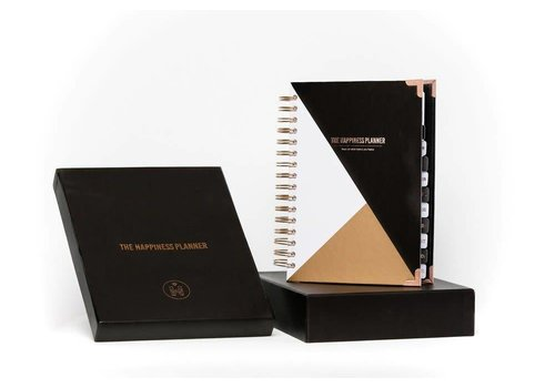 The Happiness Planner The Happiness Planner 2018 Midyear BLACK