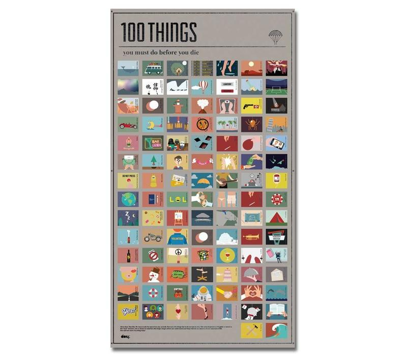 100 things you must do
