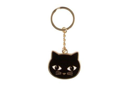 Sass & Belle Black Cat Sleutelhanger