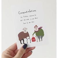 Kaart - Congratulations Wedding