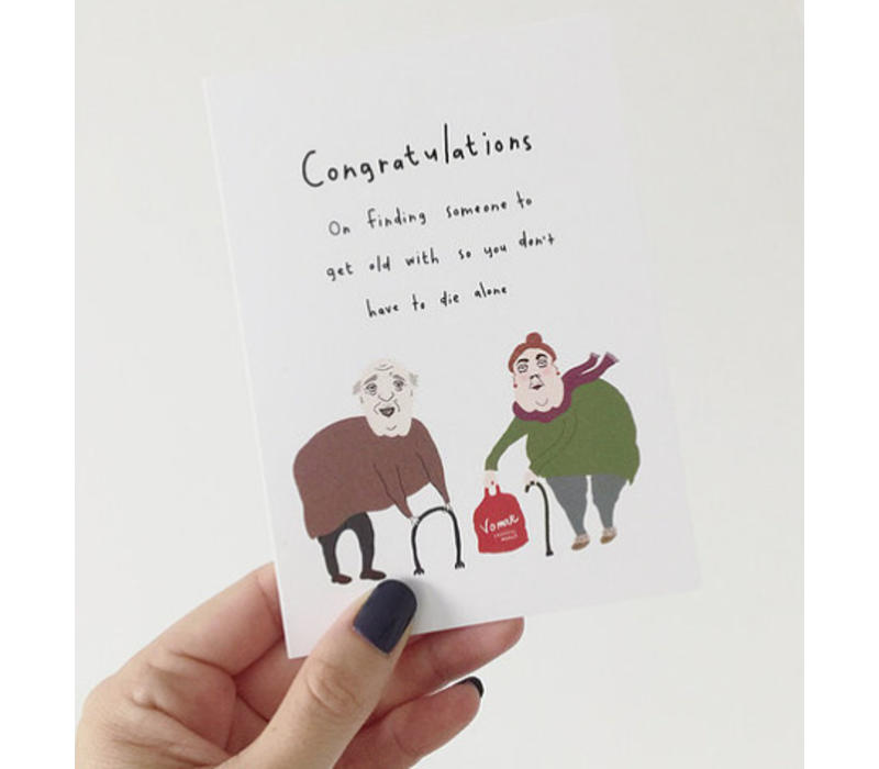 Kaart Congratulations Wedding