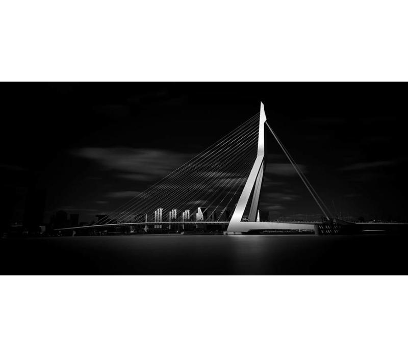 Erasmusbrug Zwart wit | Rotterdam skyline