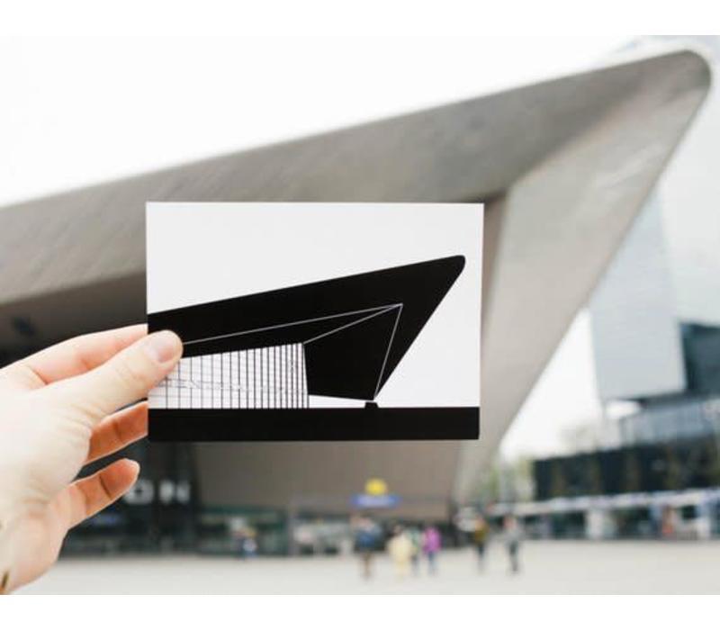 Ansichtkaart Centraal Station
