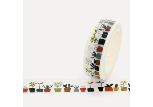 Washi tape little plants