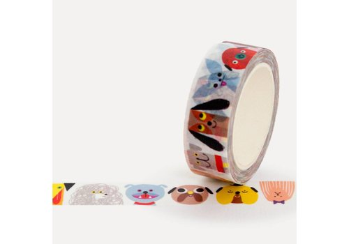 Washi tape dog gang