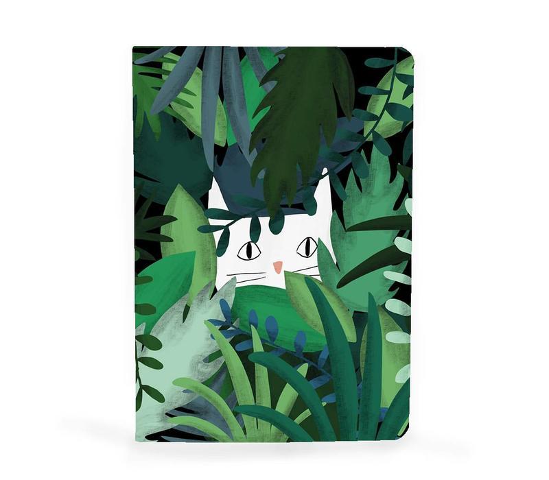 Notebook A5 Jungle cat