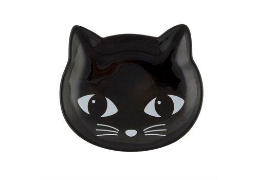 Sass & Belle Black Cat trinket dish