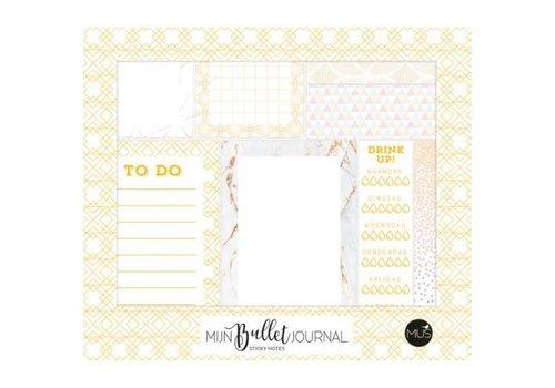 BBNC Mijn bullet journal - sticky notes