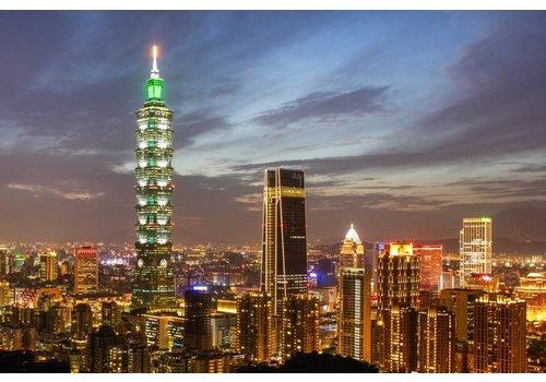 Peter Hagenouw Taipei skyline