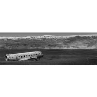 Vliegtuig wrak panorama