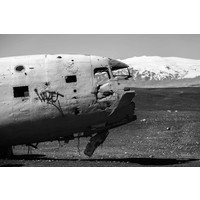 Vliegtuig wrak