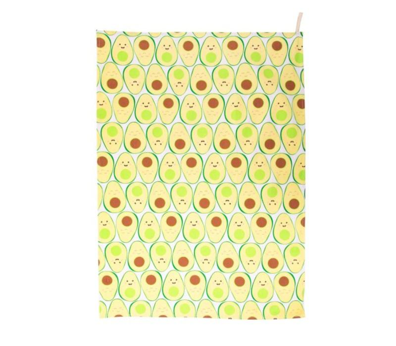 Happy Avocado Theedoek