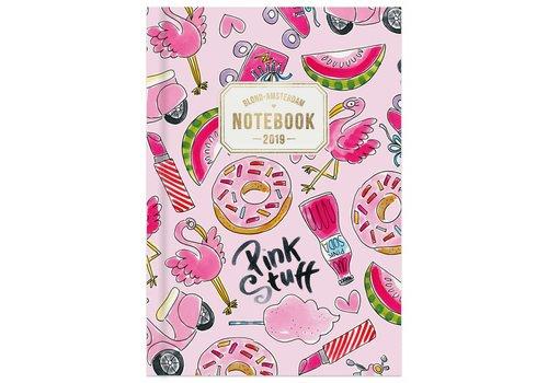 BLOND AMSTERDAM Notebook A5-pink