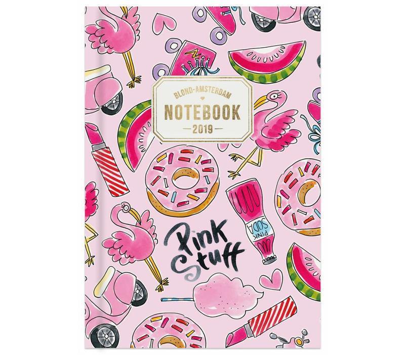 Notebook A5-pink