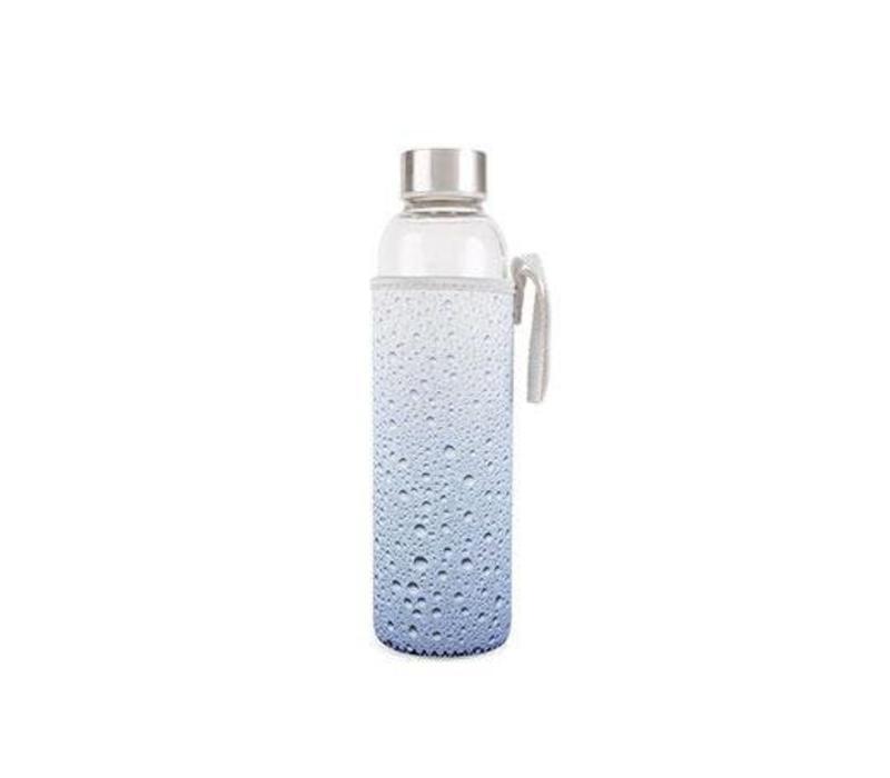 Glass bottle-water
