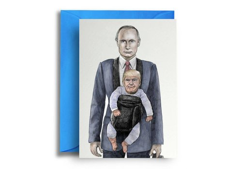 Quite Good Cards Baby Trump and Putin