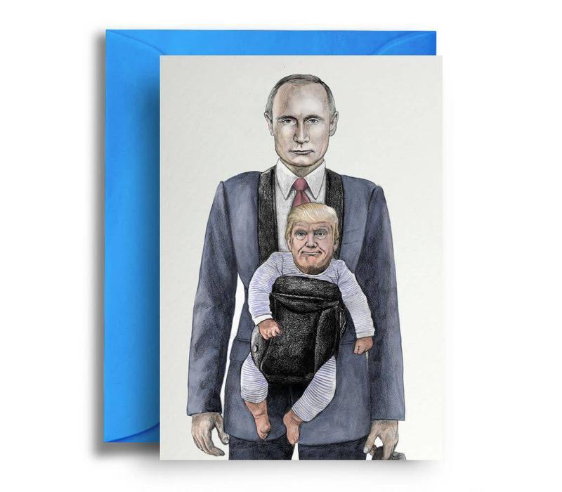 Baby Trump and Putin